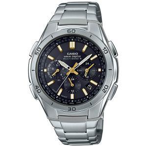カシオ WAVE CEPTOR メンズ腕時計 ソーラー 電波...