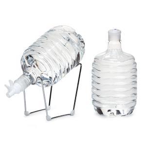 箱島湧水エア8L クレードルバルブ付きお試しセット 常温 ウォーターサーバー 名水 本州送料無料|waterea