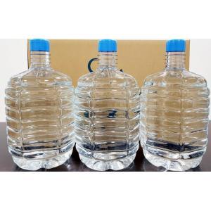 富士の天下一水8L(1箱3本入)ウォーターサーバー対応ペットボトル【個別送料・代引き不可・配送エリア限定】|waterea