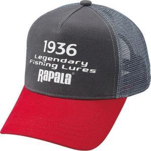ラパラ RAPALA テキストクラックプリントハーフメッシュキャップ|waterhouse|02