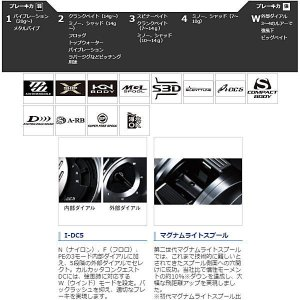 シマノ 2019 カルカッタコンクエスト DC 201 (予約受付中)|waterhouse|02
