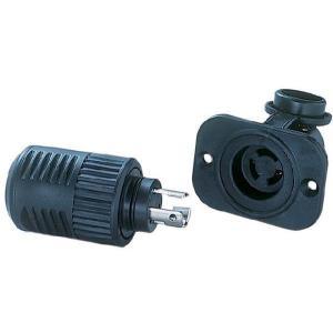 トローリングモーター配線コネクターセット(ロック機能付き)|waterhouse