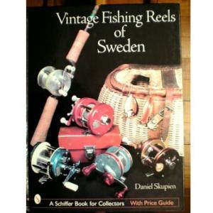 VINTAGE FISHING REELS OF SWEDEN(洋書 BOOK)|waterhouse