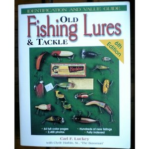 OLD FISHING LURES &TACKLE 6TH EDITION (洋書 BOOK)|waterhouse