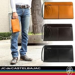 CASTELBAJAC(カステルバジャック) TIRIER(トリエ) セカンドバッグ クラッチバッグ 164204 メンズ 送料無料|watermode