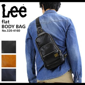 Lee(リー) flat(フラット) ボディバッグ 斜めがけバッグ 320-4160 送料無料