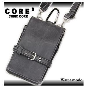 (メール便 送料無料) CORE(コア) シザーバッグ ウエストバッグ ミニショルダーバッグ 2WAY 3T20 メンズ|watermode
