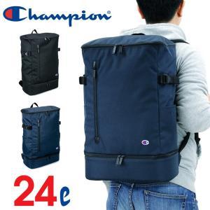 Champion(チャンピオン) グレイト スクエアリュック デイパック リュックサック 24L B4 55886 メンズ レディース 男女兼用 ジュニア 送料無料|watermode