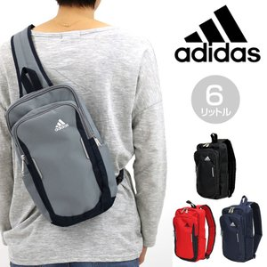 adidas(アディダス) クルーズ ボディバッグ ワンショルダーバッグ 斜め掛けバッグ 6L リフレクター付き 57702 キッズ ジュニア メンズ レディース 男女兼用|watermode