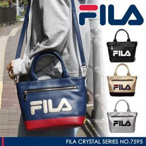 FILA(フィラ) クリスタル トートバッグ ショルダーバッグ 斜め掛けバッグ 2WAY A5 7595 レディース 送料無料|watermode