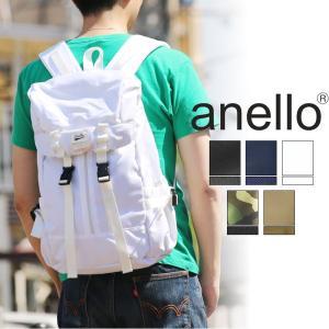 anello(アネロ)リュック リュックサック デイパック 被せリュック B4 AT-B28391  メンズ レディース 男女兼用 正規品|watermode