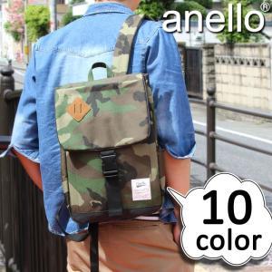 anello(アネロ) スクエアミニリュックサック リュックサック リュック A4 AU-A0133 メンズ レディース 男女兼用|watermode