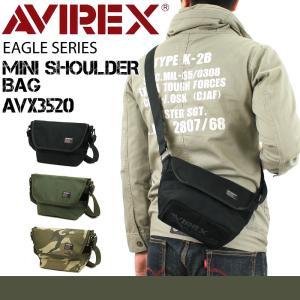AVIREX(アヴィレックス) EAGLE(イーグル) ショルダーバッグ 斜め掛けバッグ A5 AV...