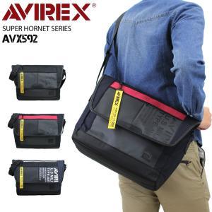 AVIREX(アヴィレックス) SUPER HORNET(スーパーホーネット) ショルダーバッグ 斜...