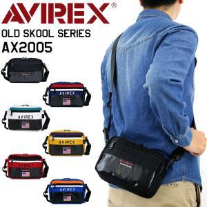 AVIREX(アヴィレックス) OLD SKOOL(オールドスクール) ミニショルダーバッグ ウエス...