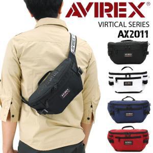 AVIREX(アヴィレックス) VIRTICAL(バーチカル) ボディバッグ ワンショルダーバッグ ...