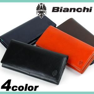 2d382b511e90 Bianchi ビアンキ VERDE ヴェルデ 長財布 小銭入れあり 財布 さいふ サイフ 小物 牛革 レザー メンズ BIB1504
