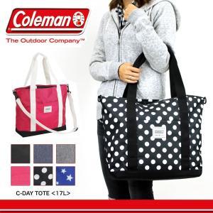 8a6732f62864 送料無料 Coleman(コールマン) C-SERIES(Cシリーズ) C-DAYTOTE(Cデイトート) トートバッグ ショルダーバッグ 2WAY  17L A4 レディース ジュニア