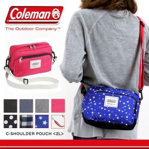 Coleman(コールマン) C-SERIES(シーシリーズ) C-SHOULDER POUCH(Cショルダーポーチ) 2L ショルダーバッグ レディース 高校生 watermode