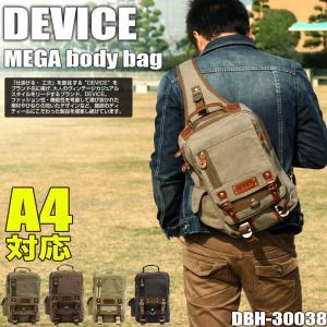 fdd7e1693b0154 DEVICE(デバイス) Access(アクセス) ボディバッグ ワンショルダーバッグ 斜め掛けバッグ A4 DBH-30038 メンズ