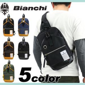 Bianchi(ビアンキ) NBTC ボディバッグ ワンショルダー 斜め掛けバッグ B5 タブレット収納 NBTC-10 メンズ レディース 男女兼用 送料無料 watermode