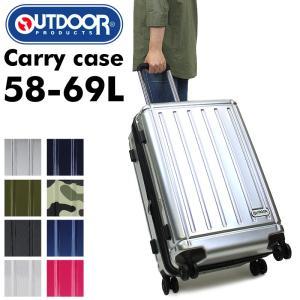 OUTDOOR PRODUCTS(アウトドアプロダクツ) スーツケース キャリーケース 58〜69L 3〜5泊 4輪 TSAロック 拡張 OD-0692-60 送料無料|watermode