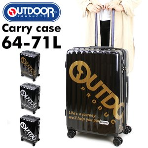 OUTDOOR PRODUCTS(アウトドアプロダクツ) スーツケース キャリーケース 64〜71L 4〜6泊 4輪 TSAロック 拡張 OD-0796-60 送料無料|watermode