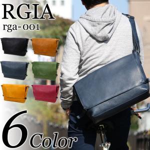 RGIA(ルジア) メッセンジャーバッグ ショルダーバッグ 斜め掛けバッグ A4 日本製 RGA-001 メンズ 送料無料 watermode