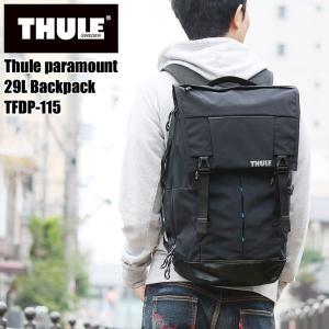 THULE(スーリー) Thule Paramaunt 29L Backpack リュック デイパック フラップオーバーバックパック B4 PC収納 TFDP-115 メンズ レディース 送料無料|watermode