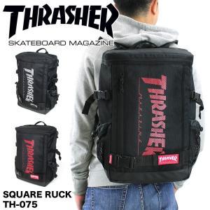 THRASHER(スラッシャー) スクエアリュック デイパック バックパック リュックサック 20L...