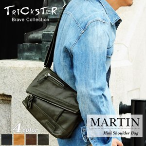 TRICK STER(トリックスター) MARTIN(マーティン) ショルダーバッグ 斜め掛けバッグ B5 TR65 メンズ 送料無料|watermode