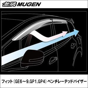 無限 フィット (GE6〜9,GP1,GP4) ベンチレーテッドバイザー wattsu