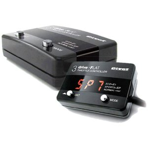 【プレゼント付き】スロコン スロットルコントローラー 3-DRIVE FLAT2 車種別ハーネスTH-2Aセット 86/BRZ Pivot(ピボット)|wattsu