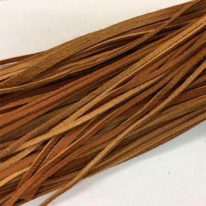 レザークラフト 革材料 革紐 エゾシカレース 3mm巾   キャメル|wave-original-y