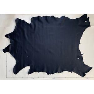 レザークラフト革 エゾ鹿 スムース(ネイビー)150デシ|wave-original-y