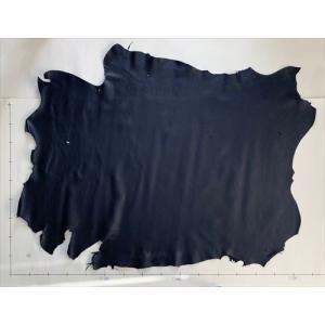 レザークラフト革 エゾ鹿 スムース(ネイビー)159デシ|wave-original-y