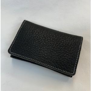 オリジナル 革製品 エゾ鹿革カードケース|wave-original-y