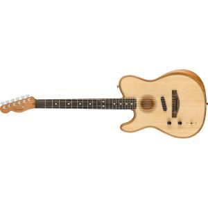 【新品】Fender American Acoustasonic Telecaster Left-Handed 〜Natural〜 【ご予約受付中】【左利き】【エレアコ】【エボニー指板】【送料無料】【池袋店】 wavehouse