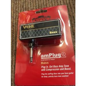 【ポイント5倍4/6まで】【店頭在庫即納】VOX amPlug2 Bass 《ギター用ヘッドフォンアンプ》【G-CLUB渋谷】|wavehouse
