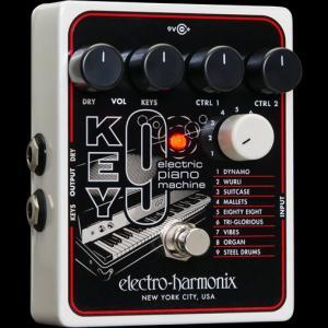 【ポイント5倍4/12まで】Electro-Harmonix KEY9 [Electric Piano Machine][エレクトロハーモニクス][エレハモ][エフェクター]【G-CLUB渋谷】 wavehouse