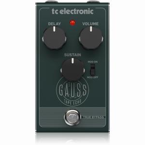 【ポイント5倍4/12まで】tc electronic GAUSS TAPE ECHO [テープエコースタイル・ディレイペダル]【G-CLUB渋谷】 wavehouse