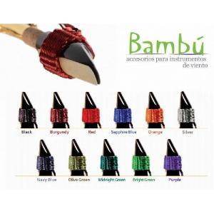 ●バンブー・リガチャー バンブー・リガチャーは100%合成繊維を使用した手織りリガチャーです。 プレ...