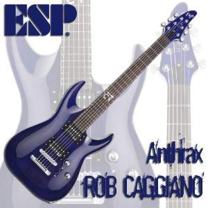 ESP Signature Series ROB CAGGIANO(See Thru Purple)...