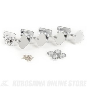 Fender Pure Vintage '70s Bass Tuning Machines, Nic...