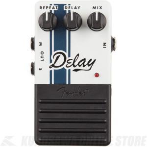 Fender Delay Pedal, White(エフェクター/ディレイ)【ONLINE STORE】 wavehouse