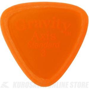 GRAVITY GUITAR PICKS GAXS3M (3.0mm, Orange, Master...
