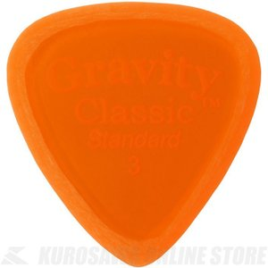 GRAVITY GUITAR PICKS GCLS3M (3.0mm, Orange, Master...
