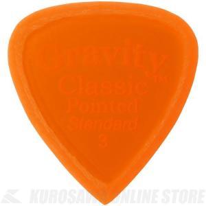 GRAVITY GUITAR PICKS GCPS3M (3.0mm, Orange, Master...