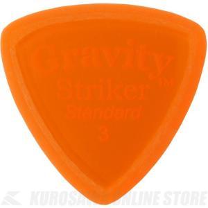 GRAVITY GUITAR PICKS GSRS3M (3.0mm, Orange, Master...