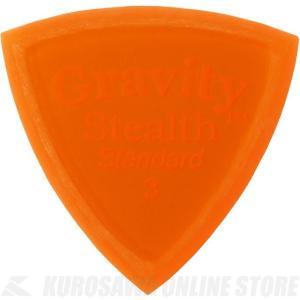 GRAVITY GUITAR PICKS GSSS3M (3.0mm, Orange, Master...
